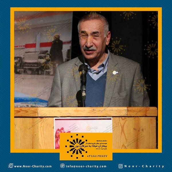 برگزاری جشن نور مهر موسسه خیریه نور